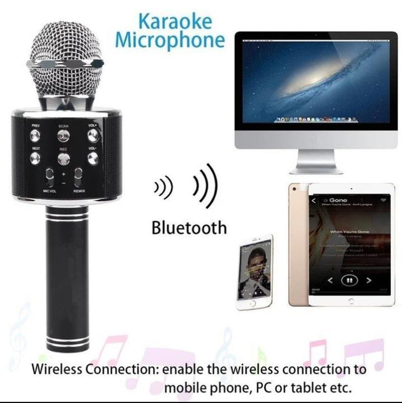 Микрофон караоке WS-858 - Фото 7
