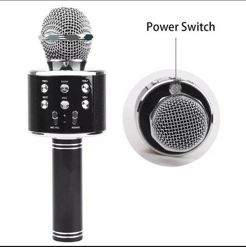 Микрофон караоке WS-858 - Фото 5