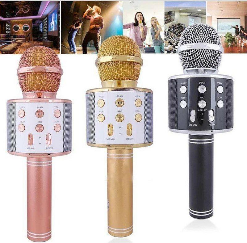 Микрофон караоке WS-858 - Фото 2