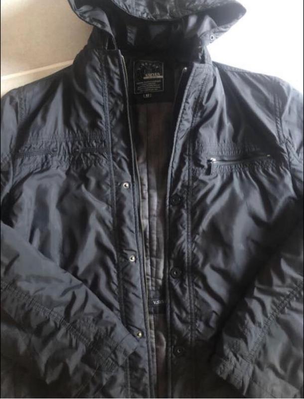 Куртка ветровка мужская - Фото 2