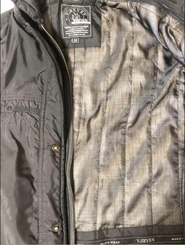 Куртка ветровка мужская - Фото 3