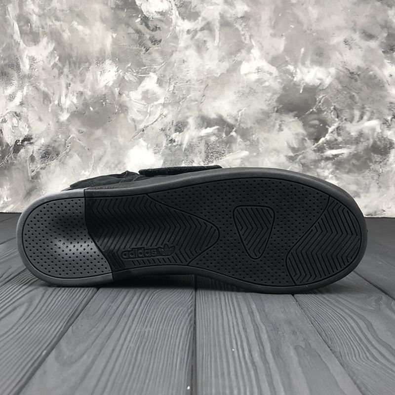 Мужские чёрные ❄️зимние❄️замшевые кроссовки адидас adidas tubu... - Фото 9