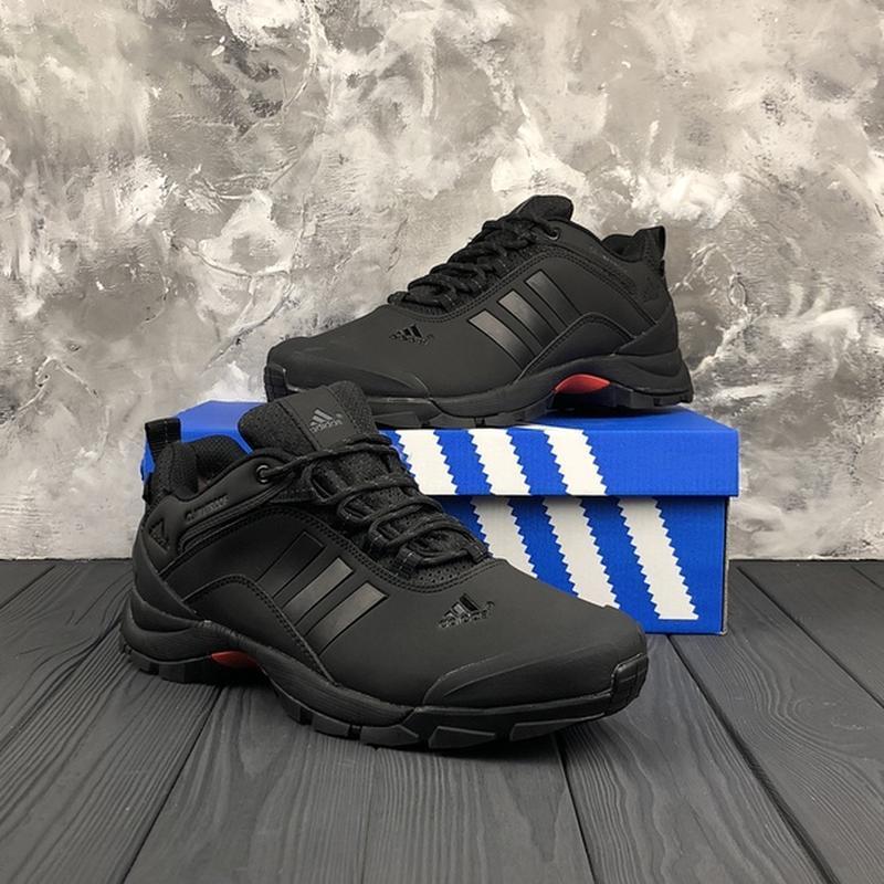 Мужские ❄️зимние❄️кроссовки адидас adidas climaproof. чёрные - Фото 4