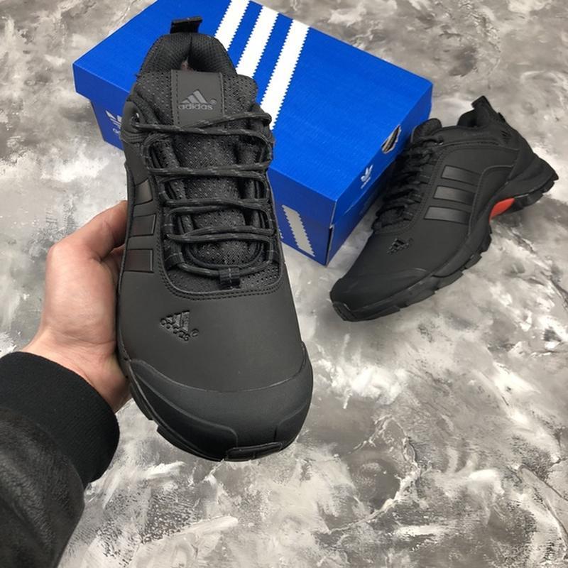 Мужские ❄️зимние❄️кроссовки адидас adidas climaproof. чёрные - Фото 6