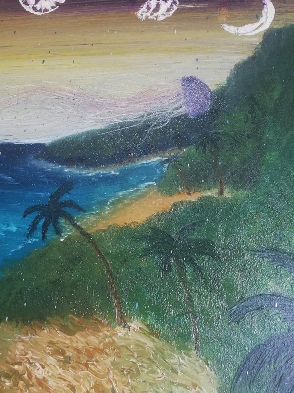 "110х80cm ""Оn distant shores"" / ""На дальних берегах"" - Фото 3"