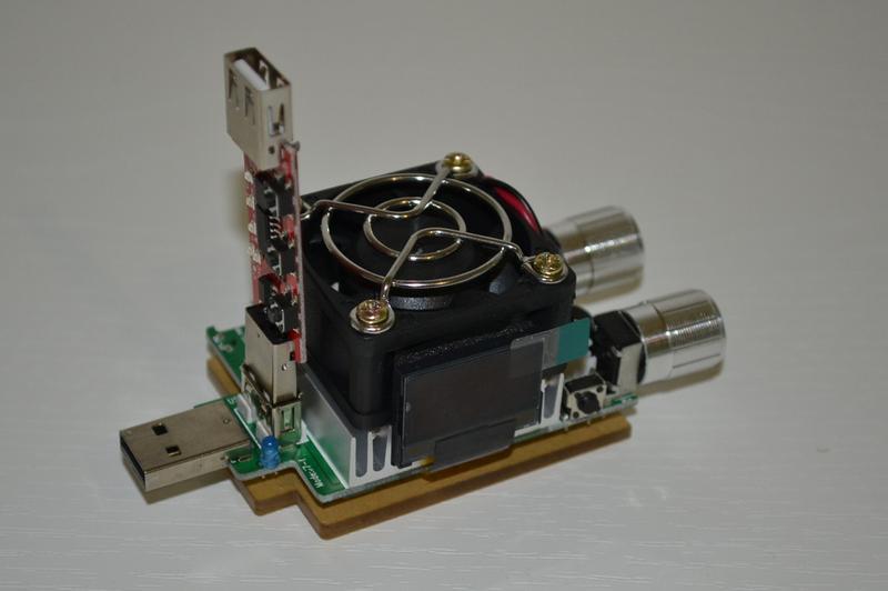Набор: USB тестер - нагрузка 35 Вт JUWEI J7-f + триггер (trigger) - Фото 2