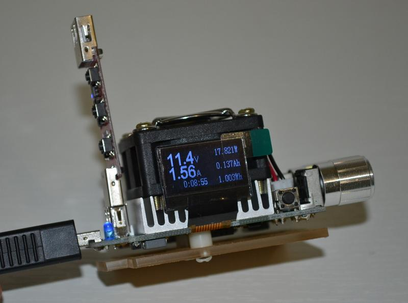 Набор: USB тестер - нагрузка 35 Вт JUWEI J7-f + триггер (trigger) - Фото 3