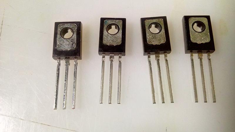 Біполярні транзистори 2SB649 2SD669. - Фото 2