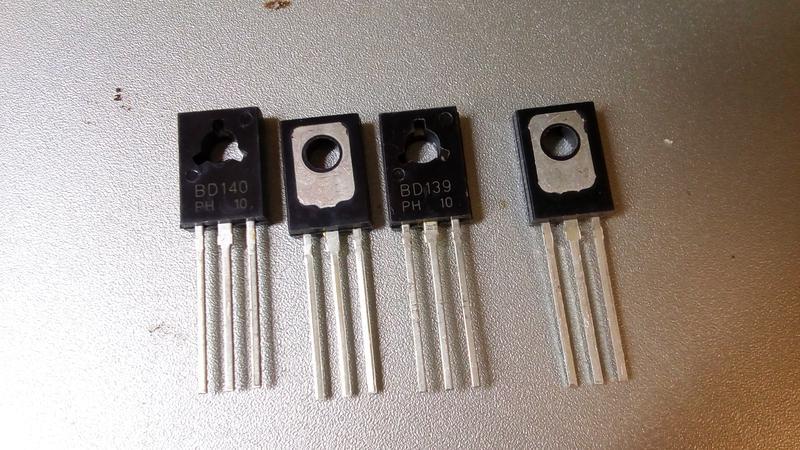 Біполярні транзистори 2SB649 2SD669. - Фото 3