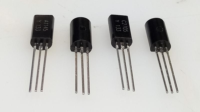 Біполярні транзистори 2SB649 2SD669. - Фото 10