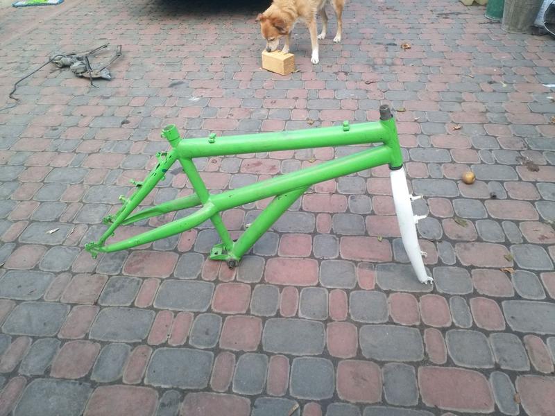 Рама от велосипеда,  велосипед