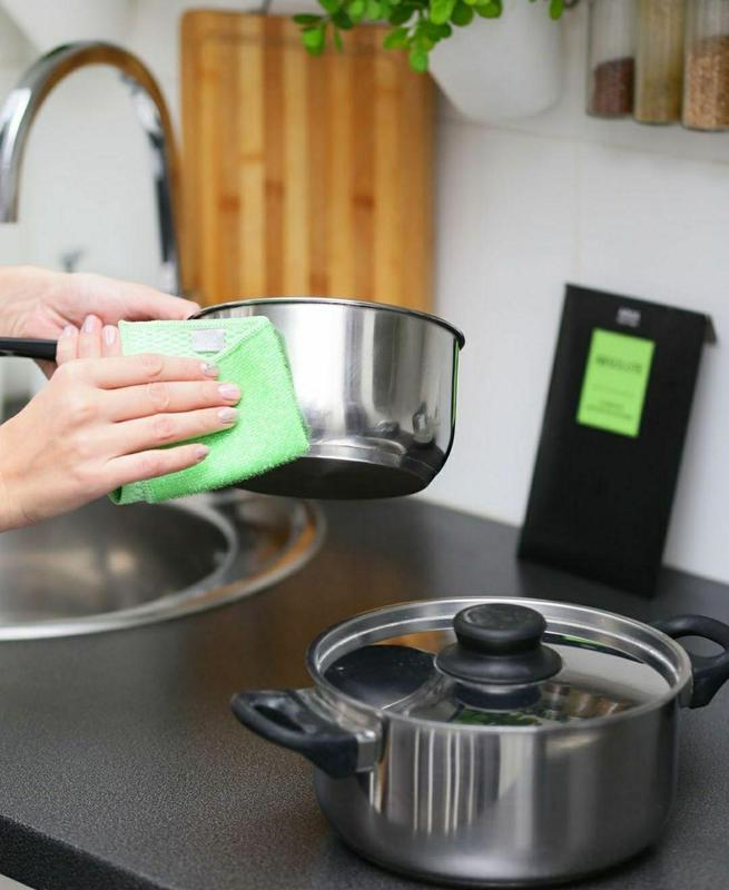 Aquamagic absolute волшебная экологическая салфетка для посуды gr - Фото 12