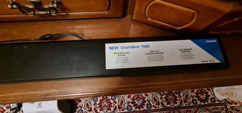 Soundbar Samsung T650