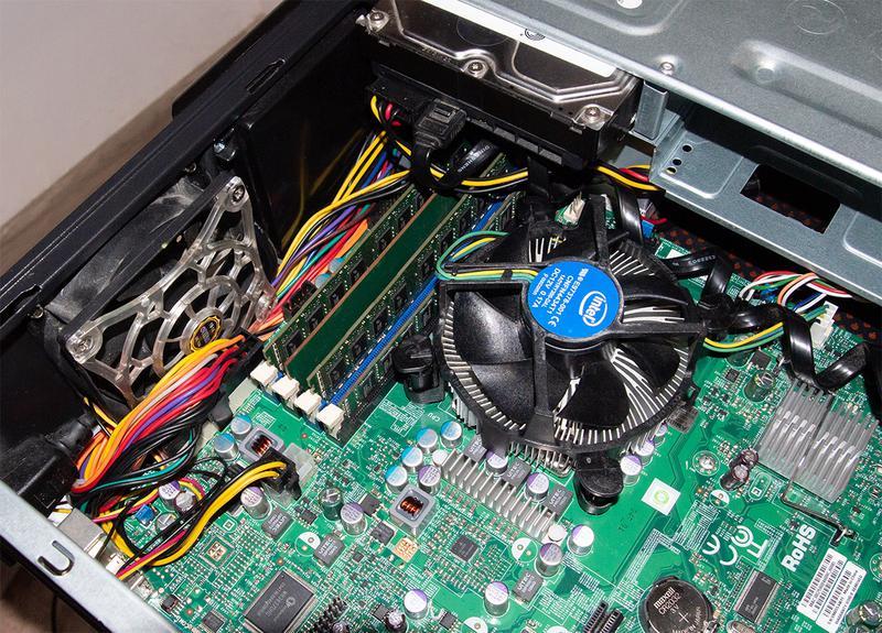 Мини сервер Intel Xeon X3460 SuperMicro X8SIL 8Gb DDR3 1Tb HDD - Фото 4