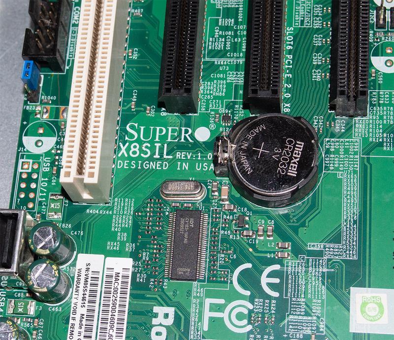 Мини сервер Intel Xeon X3460 SuperMicro X8SIL 8Gb DDR3 1Tb HDD - Фото 6