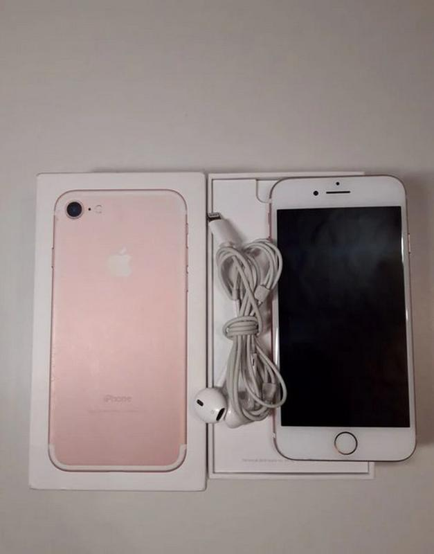 IPhone 7 Rose Gold 32gb - Фото 3