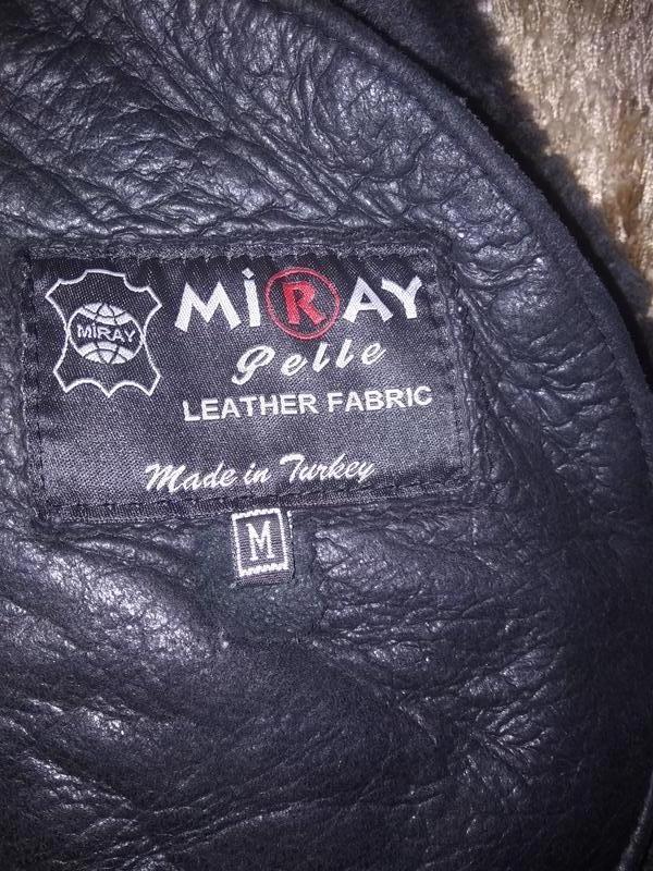 Новая мужская дубленка удлиненная  куртка пальто - Фото 5