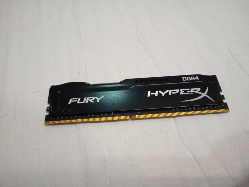 Память HyperX 4 GB DDR4 2133 MHz FURY (HX421C14FB/4) - Фото 2