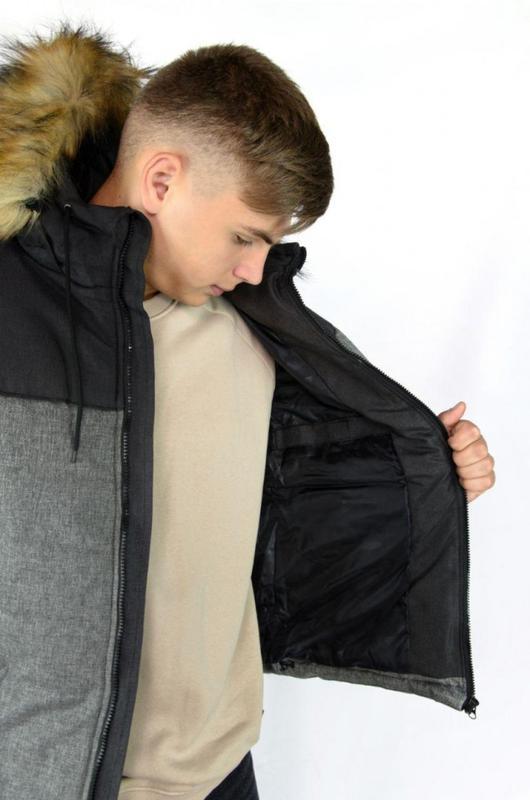 Куртка зимняя мужская Alaska - Фото 4