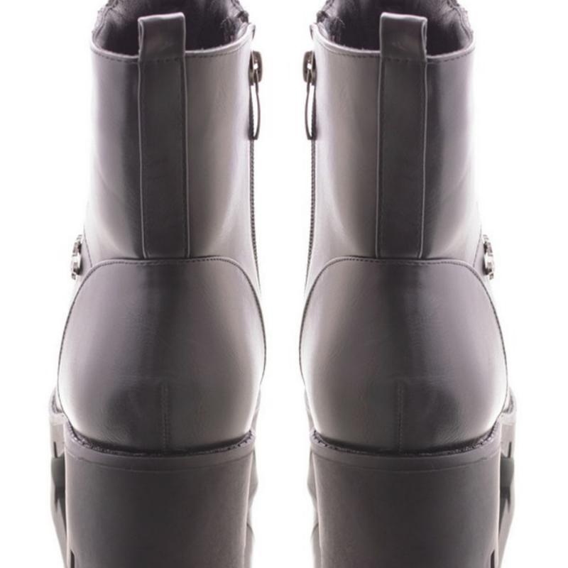 30963 ботинки на широком каблуке - Фото 4