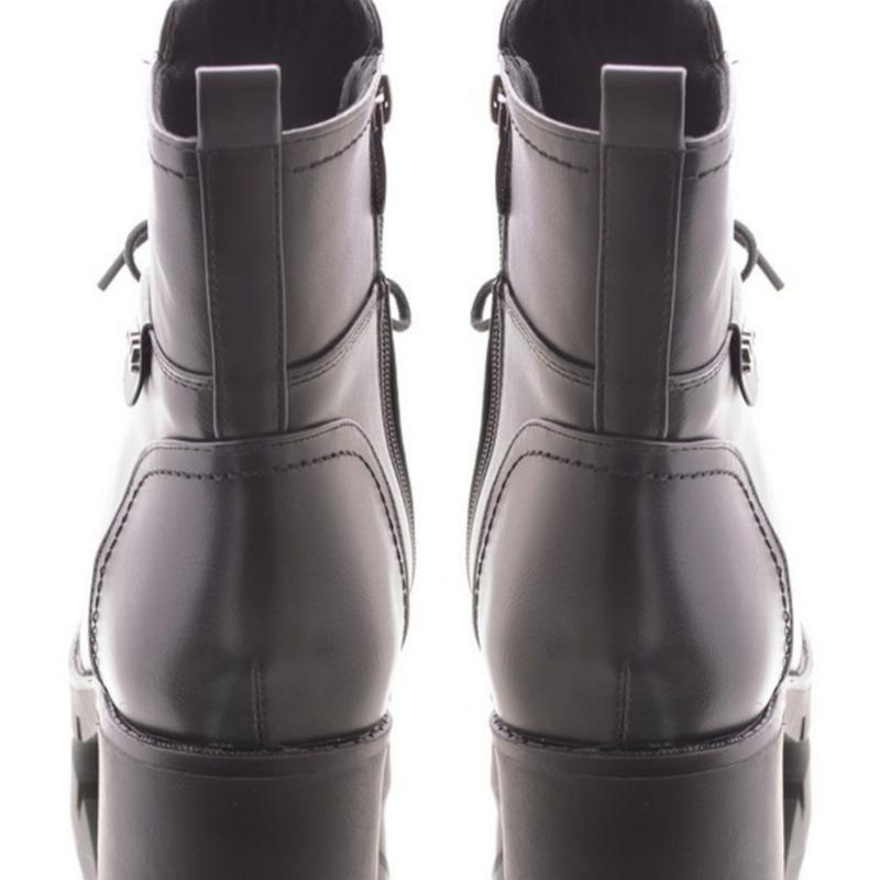 30962 ботинки на широком каблуке - Фото 4