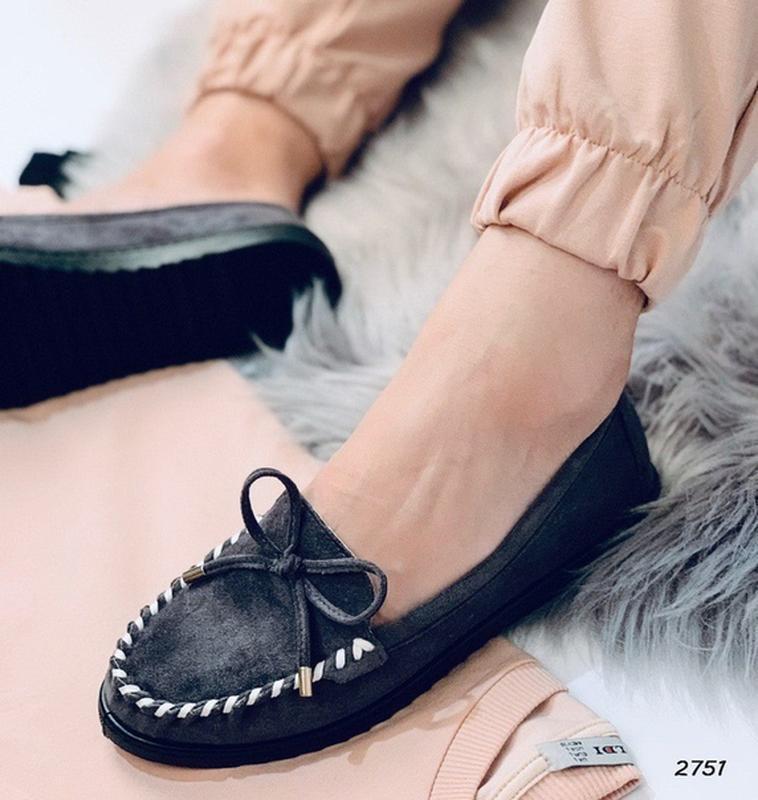 Туфельки на низком ходу - Фото 2
