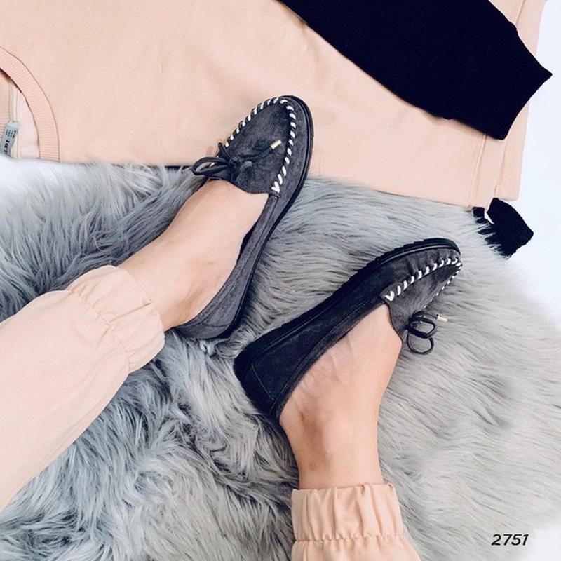 Туфельки на низком ходу - Фото 4