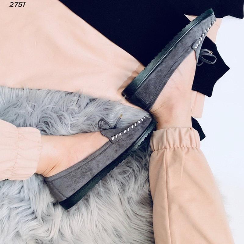 Туфельки на низком ходу - Фото 5