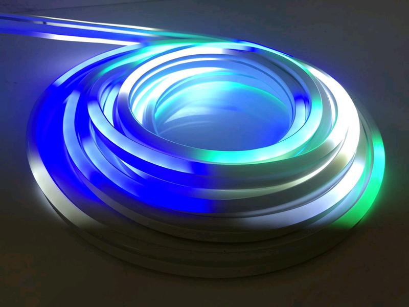 Светодиодная лента SMD гибкая, Неон в Бухте 5м 220V (Микс) - Фото 3