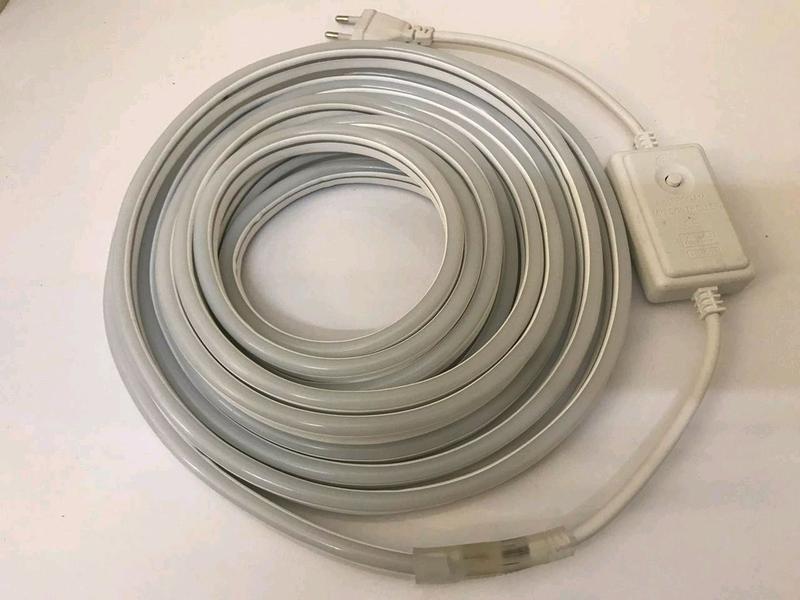 Светодиодная лента SMD гибкая, Неон в Бухте 5м 220V (Микс) - Фото 4
