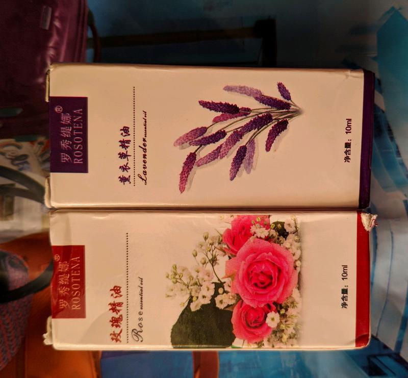 Эфирное масло розы и лаванды