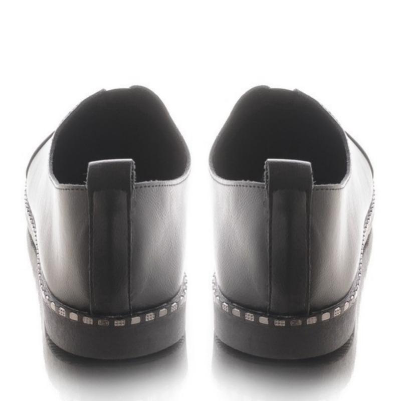 Женские туфли на плоской подошве - Фото 3