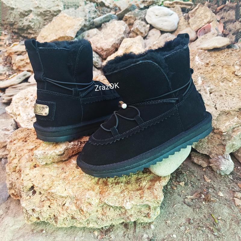 Ugg натуральные угги ботинки сапоги зимние