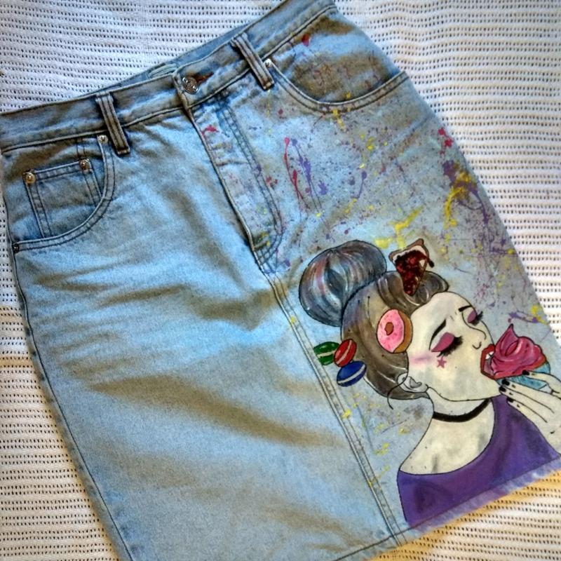 Рисую на одежде, сумках, обуви