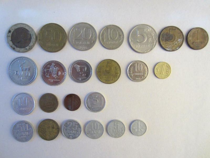Подборка монет стран СНГ. Монеты СНГ