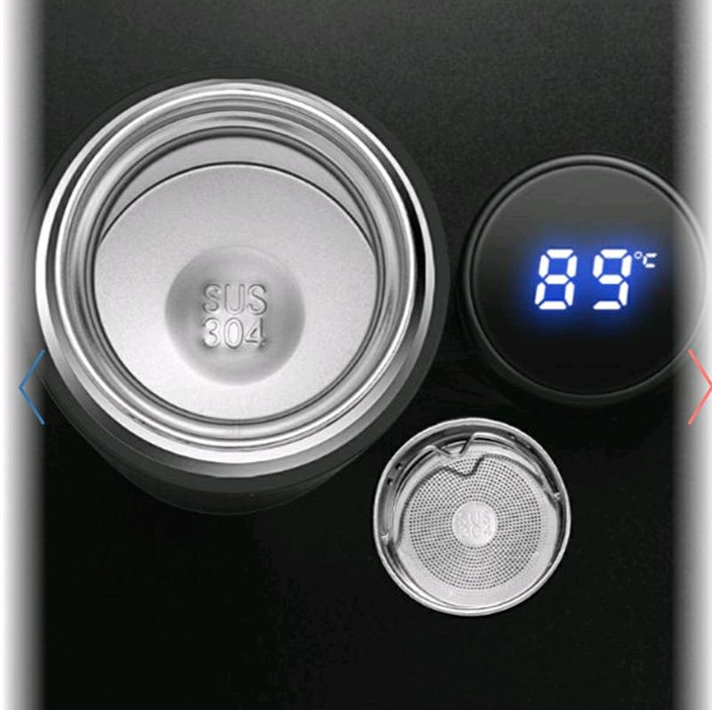 Термос с индикатором температуры - Фото 3