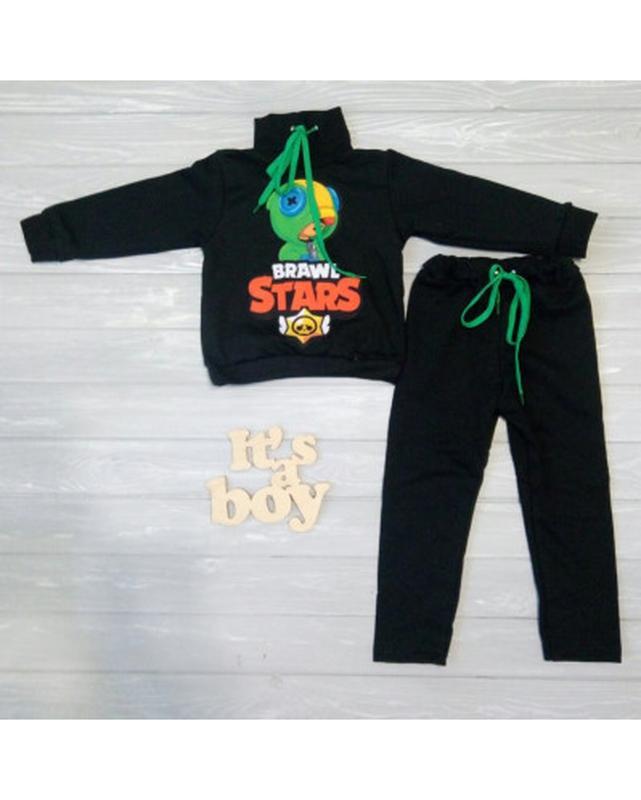 Теплый повседневный детский костюм для мальчиков