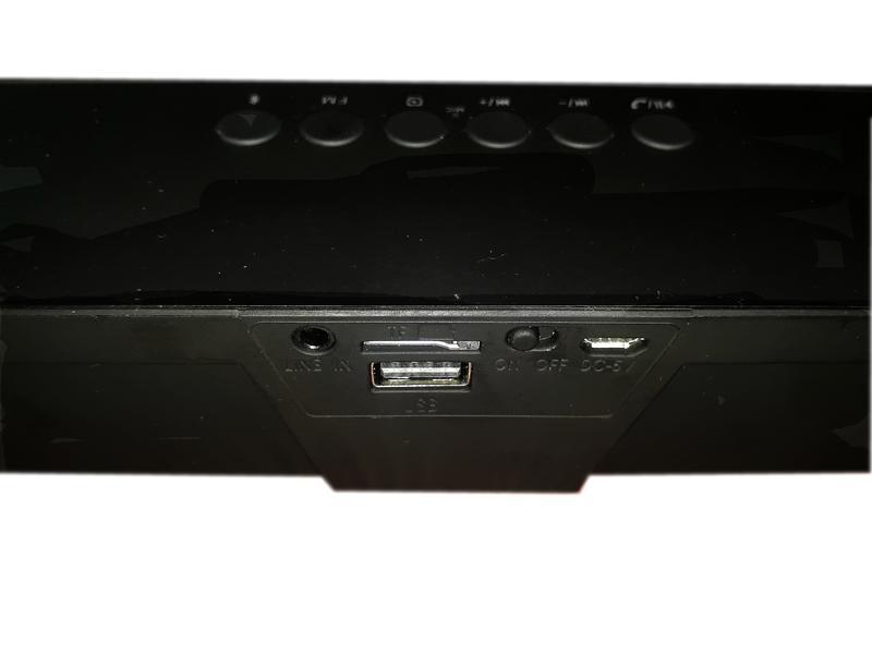 Колонка портативная Senbono SDY-019 Bluetooth Speaker - Фото 9