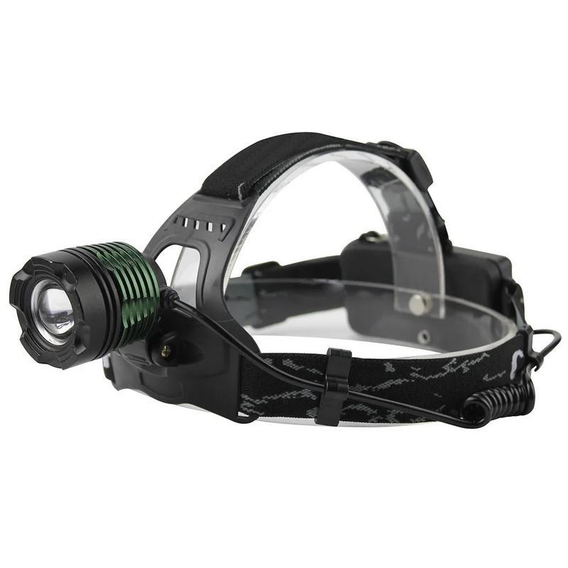 Налобный фонарик POLICE 2189-2 T6 (2 зарядных, 2 аккумулятора)