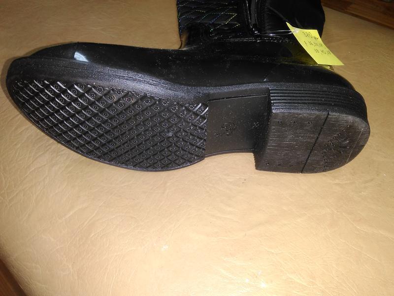 Утепленные резиновые сапоги 36-39 р. женские гумові, чоботи, с... - Фото 3