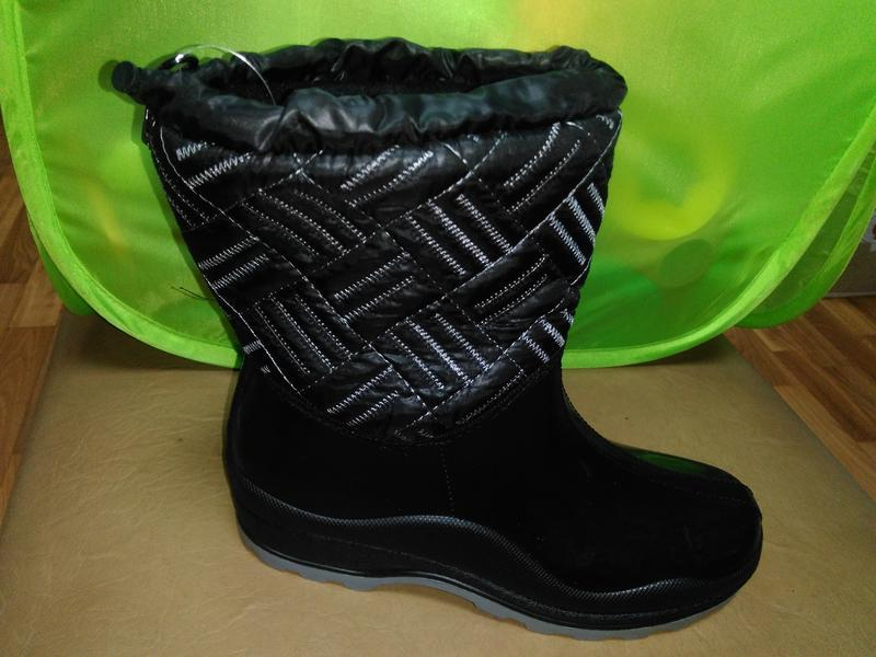 Утепленные резиновые сапоги 37-41 р. женские, ботинки, непромо...