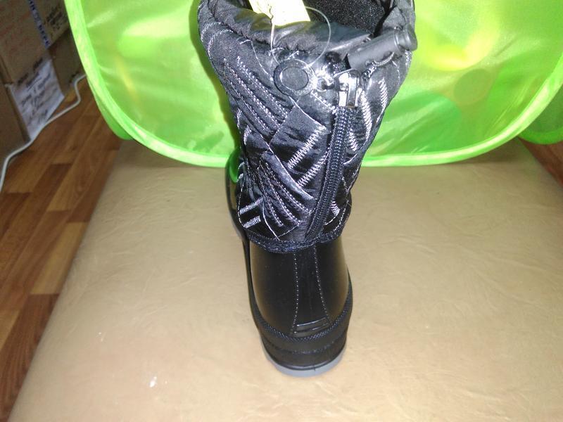 Утепленные резиновые сапоги 37-41 р. женские, ботинки, непромо... - Фото 3