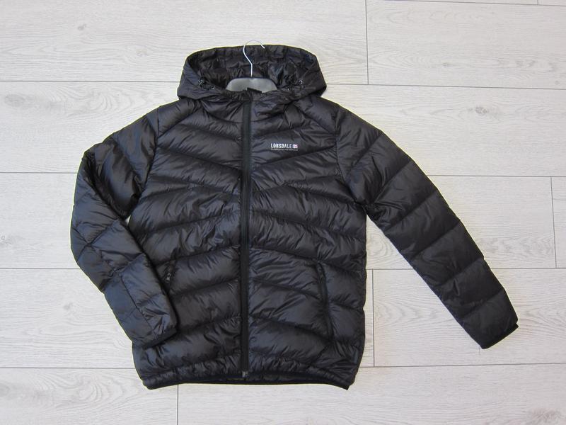 Пуховик куртка мужская от lonsdale, из англии, все размера