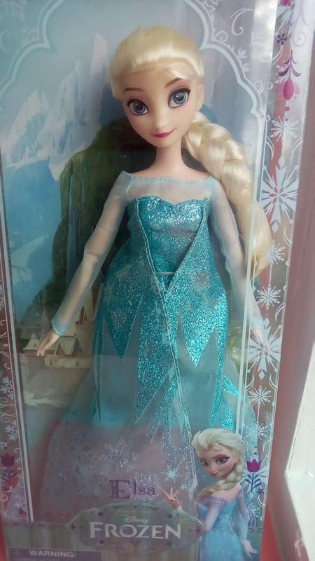 Кукла Эльза поющая Холодное сердце