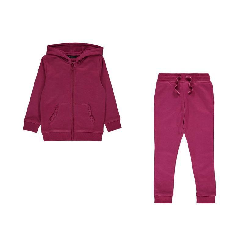 Детский костюмчик на флисовом начесе - толстовка и штанишки дж...