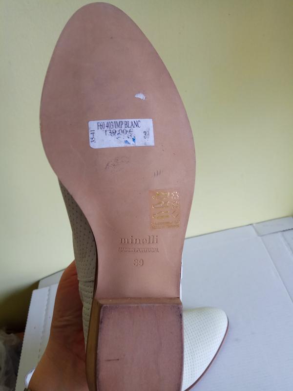 Ботинки 38 40 розмір бренд minelli - Фото 3