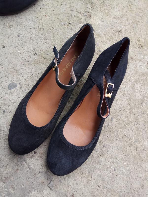 Туфлі 37 розмір бренд san marina - Фото 2