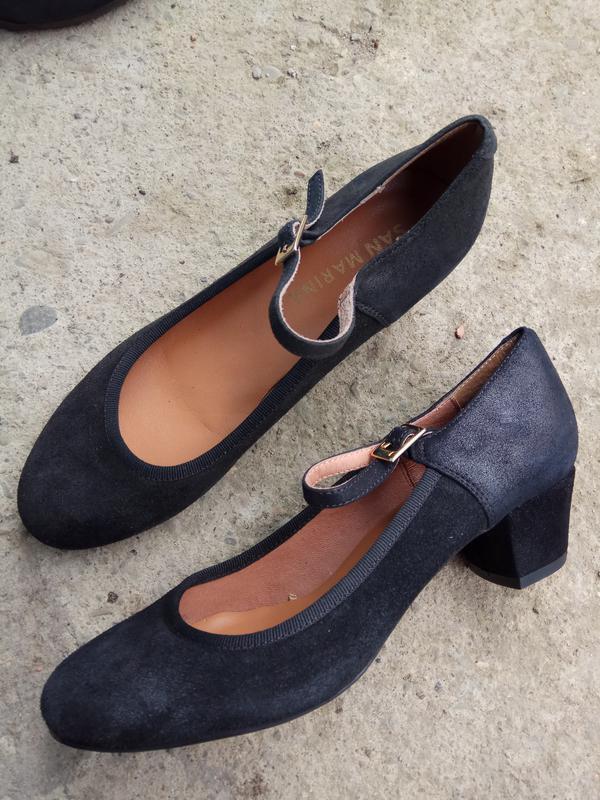 Туфлі 37 розмір бренд san marina - Фото 3