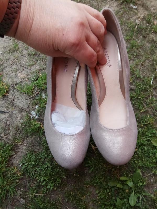 Туфлі 36 37 38 39 розмір бренд andre - Фото 3