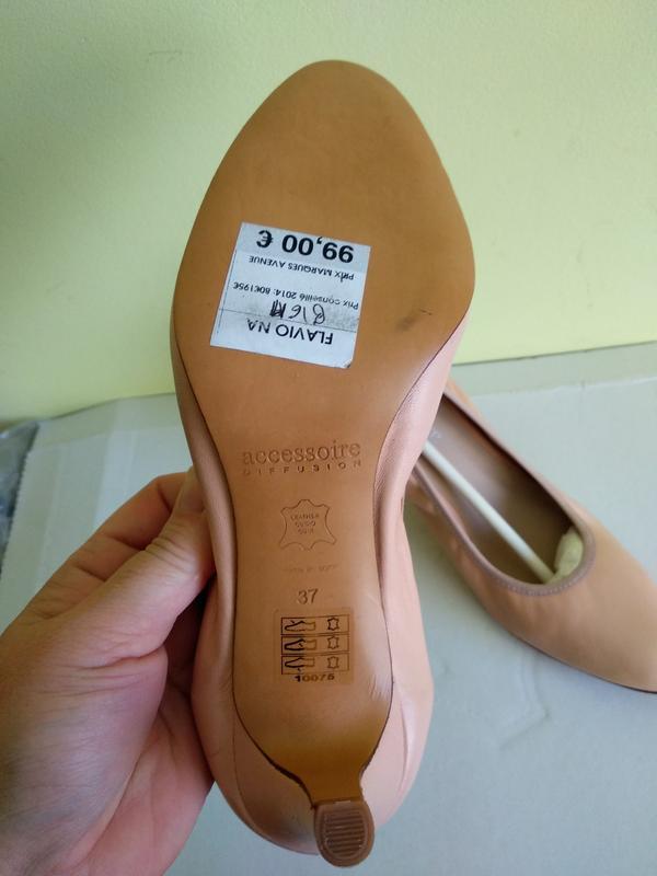 Туфлі 37 розмір бренд accessoire - Фото 3